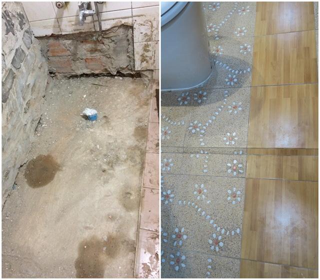 mini restroom renovation review (7)