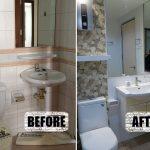 Review : รีโนเวทห้องน้ำขนาดเล็ก เปลี่ยนใหม่ให้ปิ๊งกว่าเก่า พร้อมค่าใช้จ่ายครบถ้วน