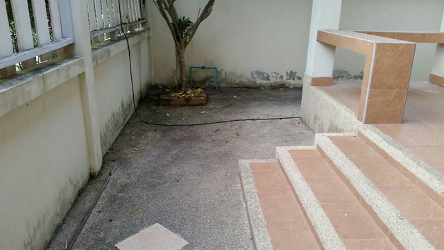 patio enlargement with small pond review (1)