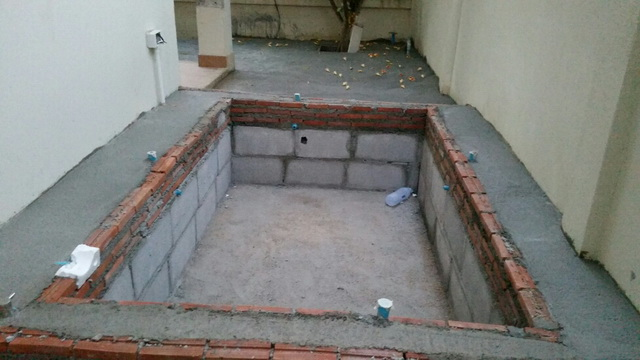 patio enlargement with small pond review (12)
