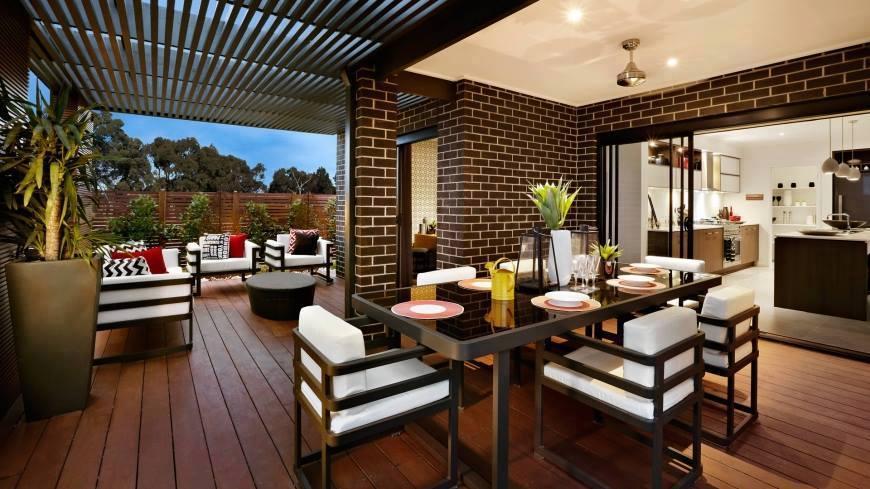 two-storey house modern style elegant shape (10)