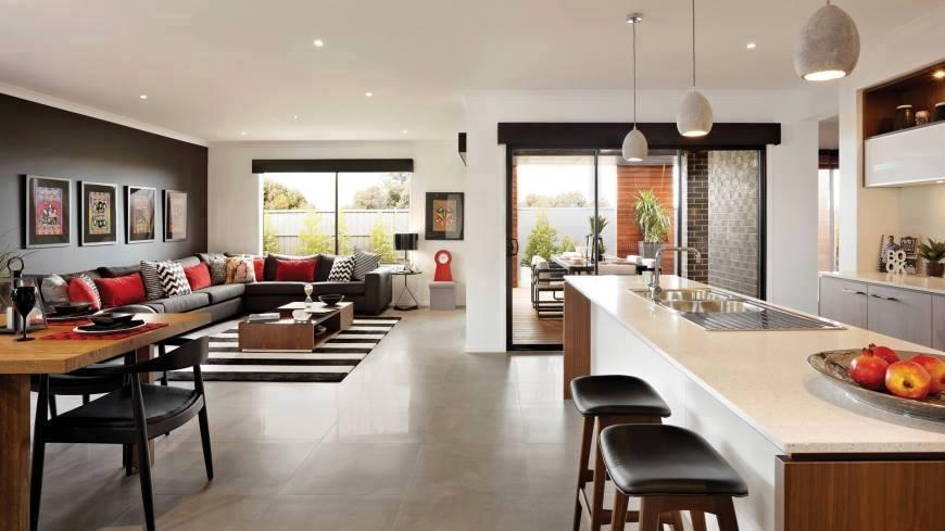 two-storey house modern style elegant shape (4)