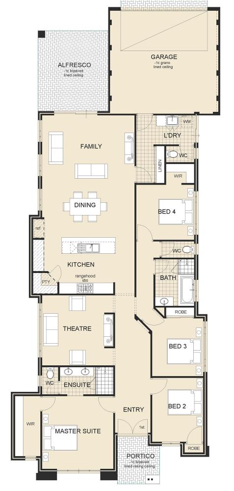 two-storey house modern style elegant shape (6)