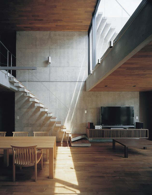 two-story Modern house natural decor (11)