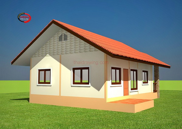 1 floor thai contemporary 500k house plan (3)