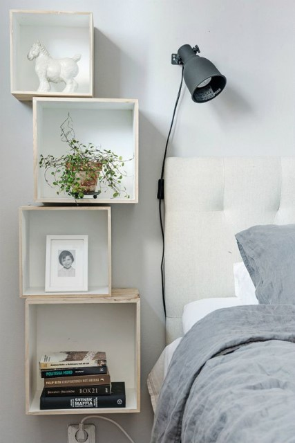 15-ideas-for-small-space-bedside-table (13)