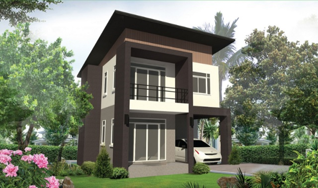 2 storey anti earthquake modern house (1)