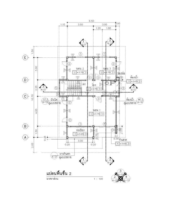 2 storey thai modern hiproof house (5)