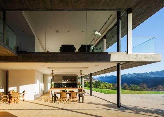 2 story Modern house natural decor (1)