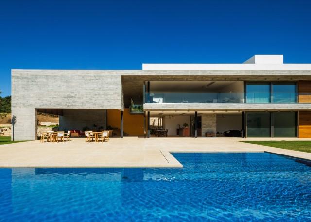 2 story Modern house natural decor (10)
