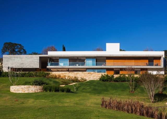 2 story Modern house natural decor (11)