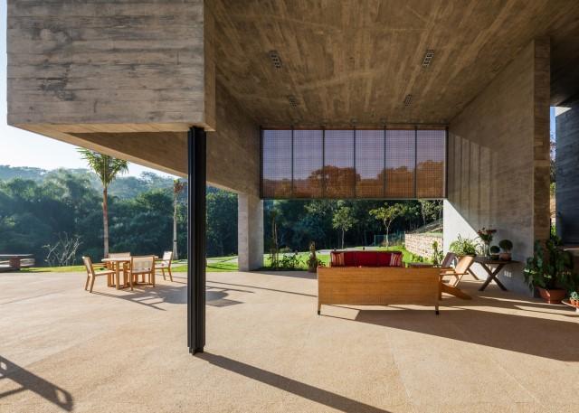 2 story Modern house natural decor (12)