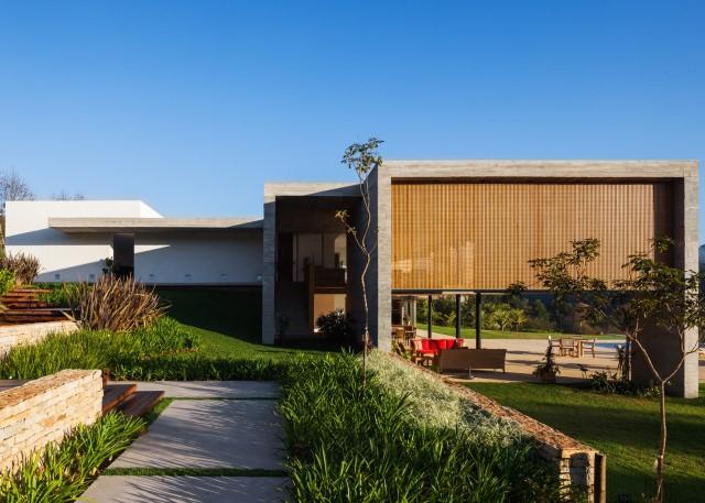 2 story Modern house natural decor (13)