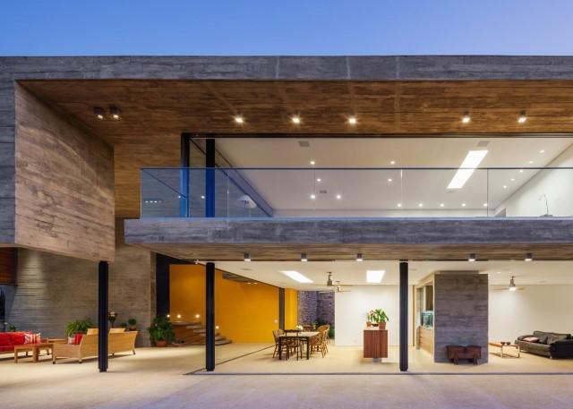 2 story Modern house natural decor (18)