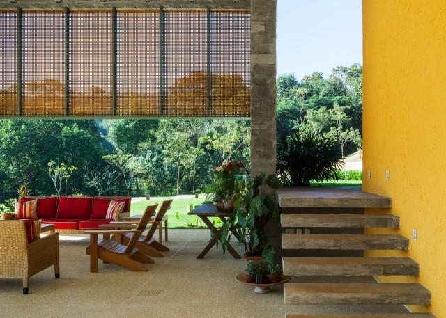 2 story Modern house natural decor (2)