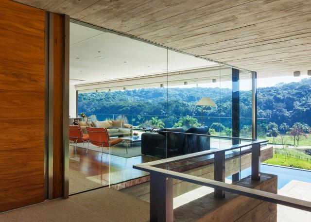 2 story Modern house natural decor (4)