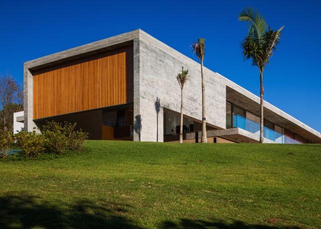 2 story Modern house natural decor (9)
