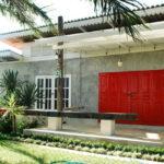 Review : บ้านปูนเปลือยหลังเล็กกลางวิวธรรมชาติ ออกแบบสร้างด้วยตัวเอง ในงบประมาณ 3 แสนบาท