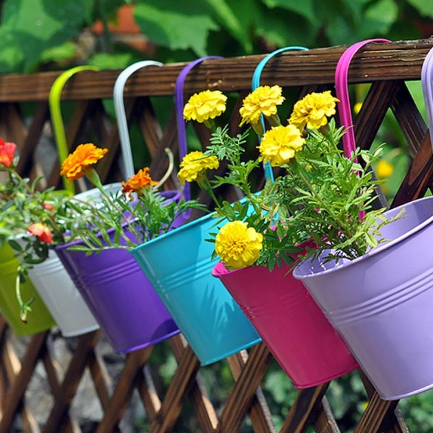 35 Ideas hanging Garden (1)