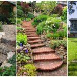 36 ไอเดียสวนสวย ที่ตกแต่งด้วยบันไดหิน สร้างสวนต่างระดับ รับการพักผ่อนที่อิงแอบธรรมชาติ