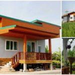 บ้านหลังน้อยพร้อมสวนพืชไร่ รายล้อมไปด้วยวิวธรรมชาติ สัมผัสอากาศสดชื่นได้ตลอดวัน