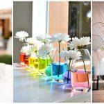 51 ไอเดียขวดโหล แจกันดอกไม้ ตกแต่งโต๊ะอาหาร DIY ง่ายๆ และประหยัดงบประมาณ