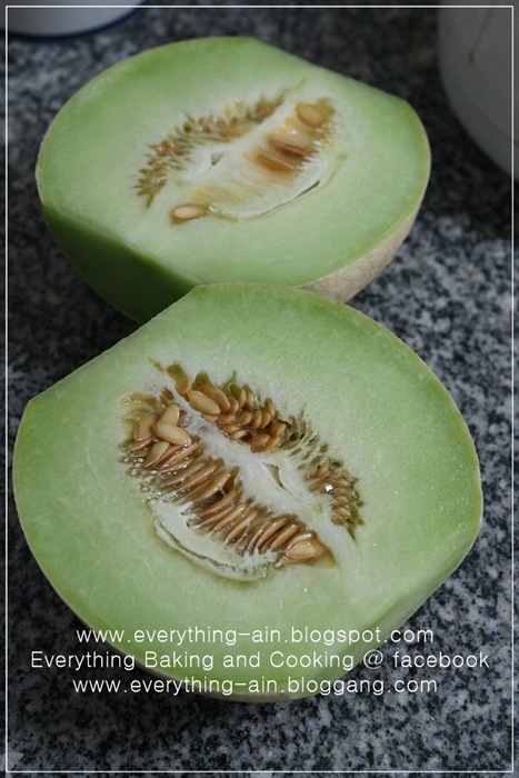 Cantaloupe Sherbet (1)