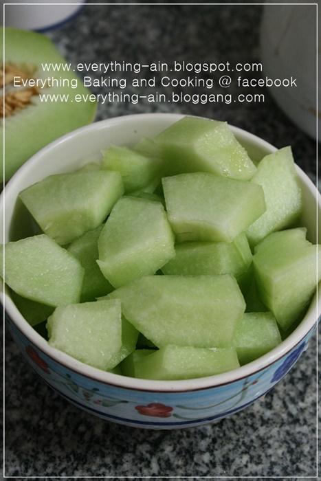 Cantaloupe Sherbet (2)