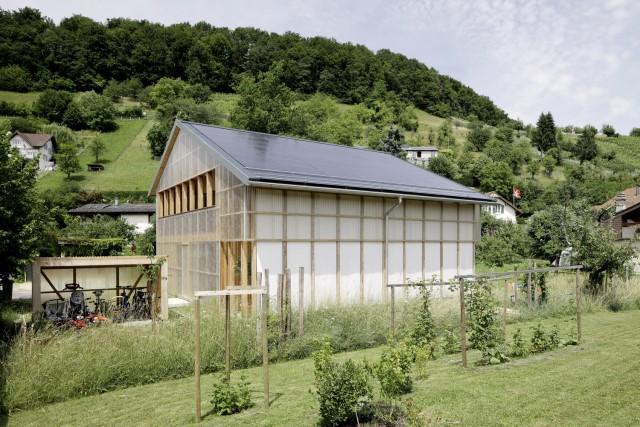 Contemporary villa house Wood decor (10)