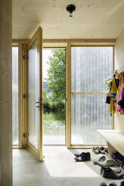 Contemporary villa house Wood decor (2)
