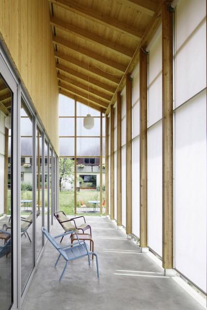 Contemporary villa house Wood decor (5)