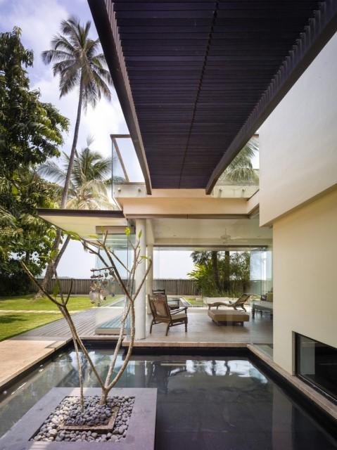 Large villa house Modern retro style (12)