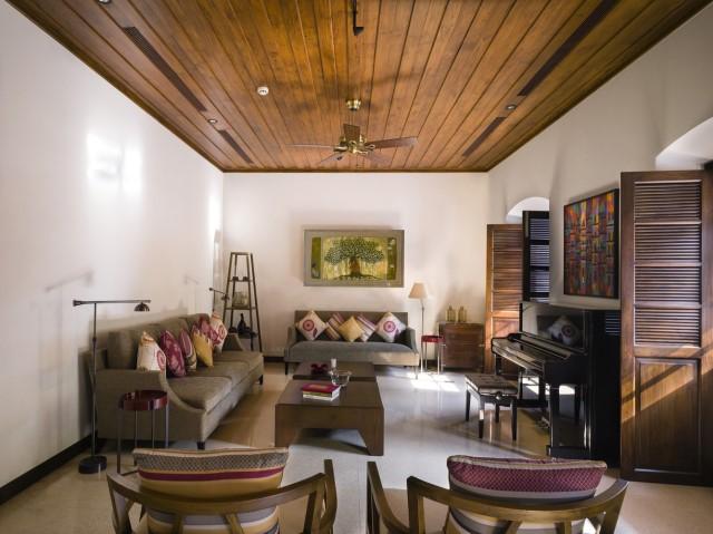 Large villa house Modern retro style (13)