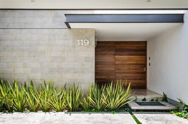 Modern home beautiful shape is the Vulgate (1)