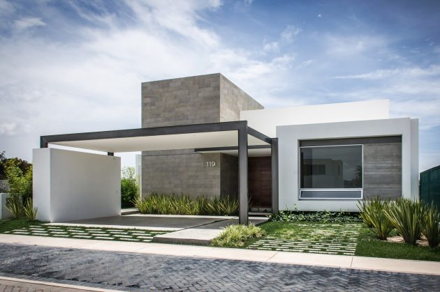 Modern home beautiful shape is the Vulgate (13)