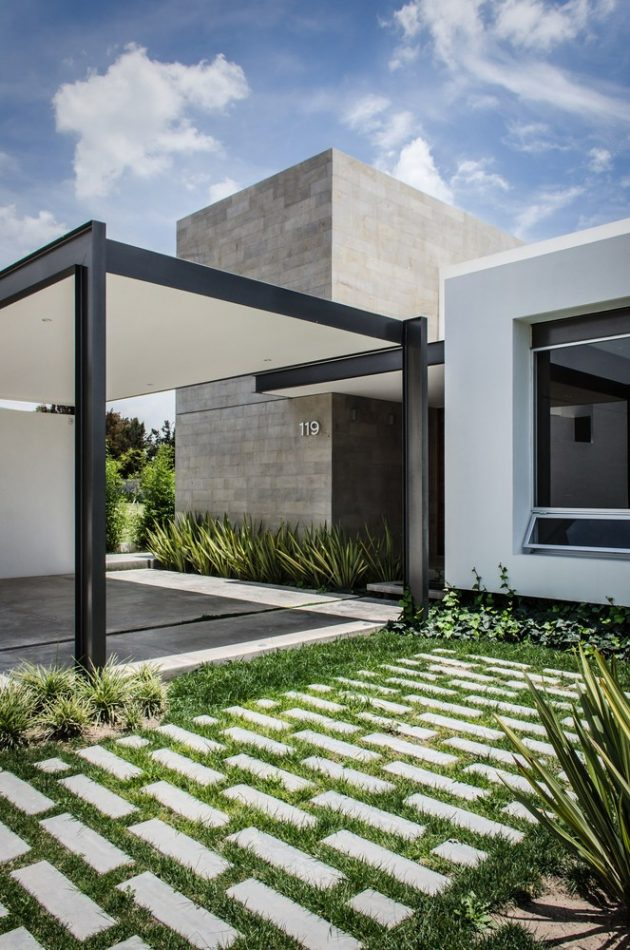 Modern home beautiful shape is the Vulgate (14)