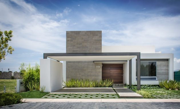 Modern home beautiful shape is the Vulgate (2)
