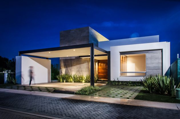 Modern home beautiful shape is the Vulgate (3)