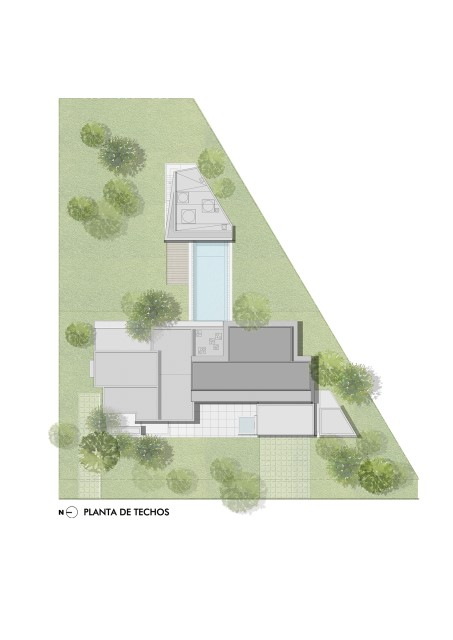 Vacation cement home loft style With small swimming pool (12)