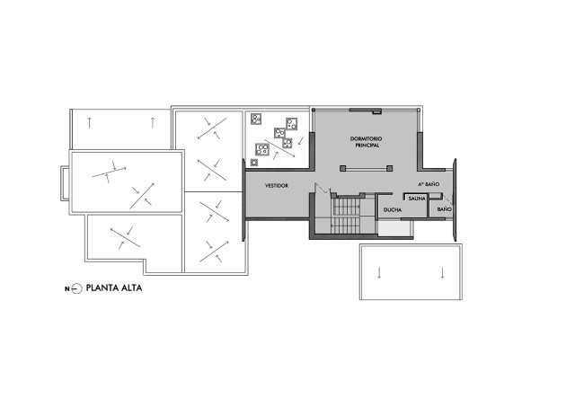 Vacation cement home loft style With small swimming pool (14)
