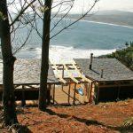 บ้านตากอากาศริมทะเล ออกแบบในสไตล์เคบิน วัสดุจากไม้ทั้งหลัง ดีไซน์สวย เปิดรับลมตลอดวัน