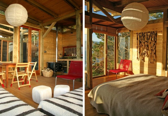 Villa house cabins Style open air (3)