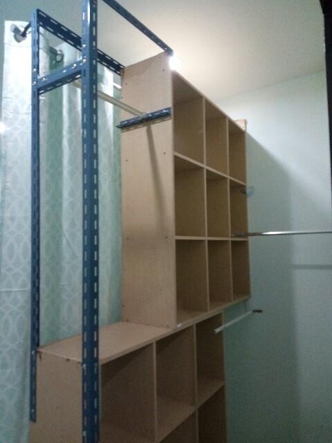 Walk in closet diy review (5)