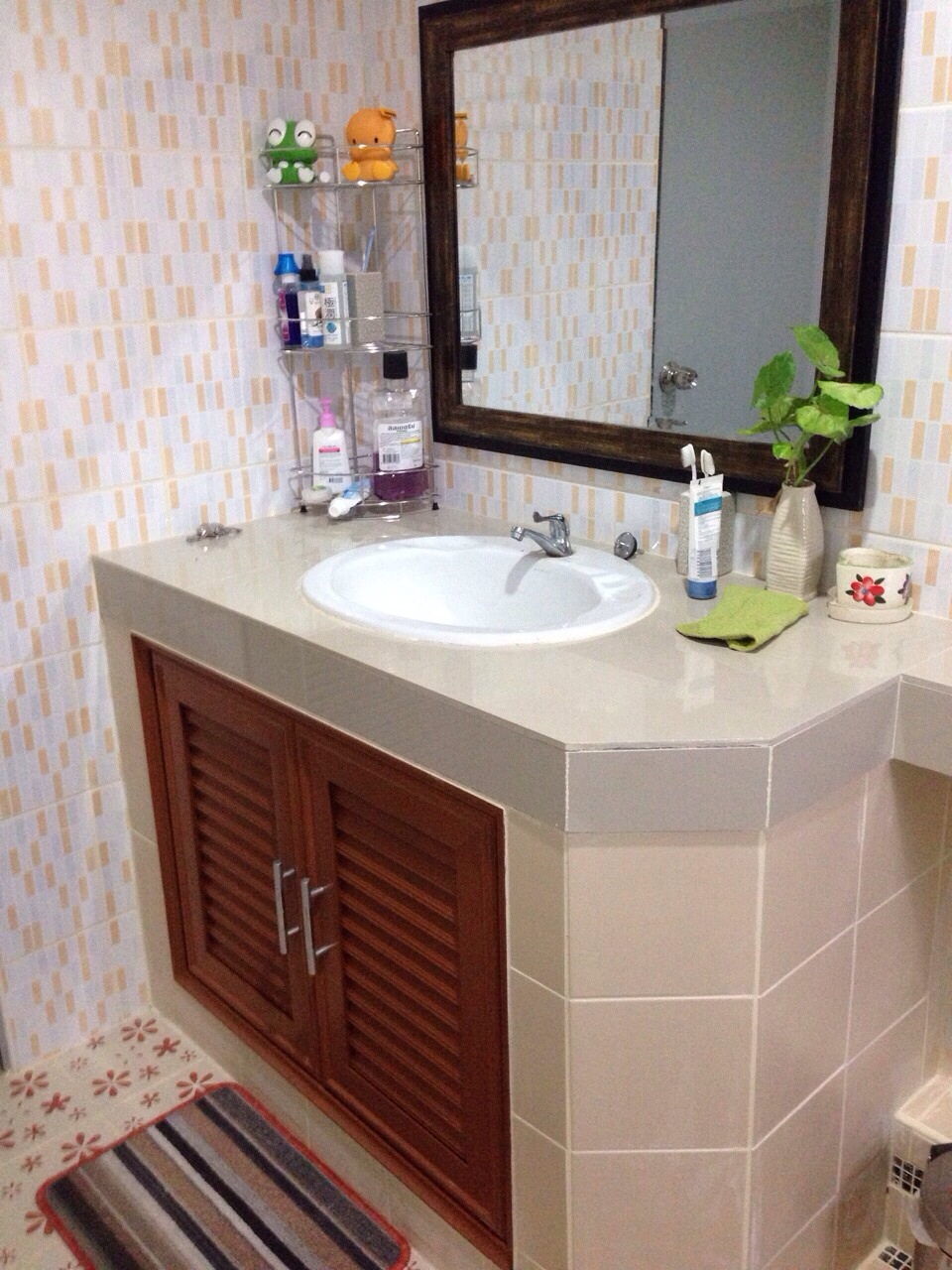 bathroom partition diy review (12)