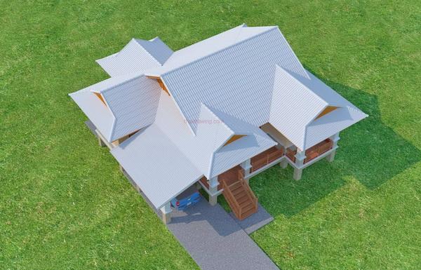 beautiful 150 sqm resort house plan (3)