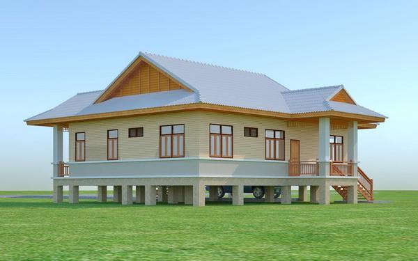 beautiful 150 sqm resort house plan (4)