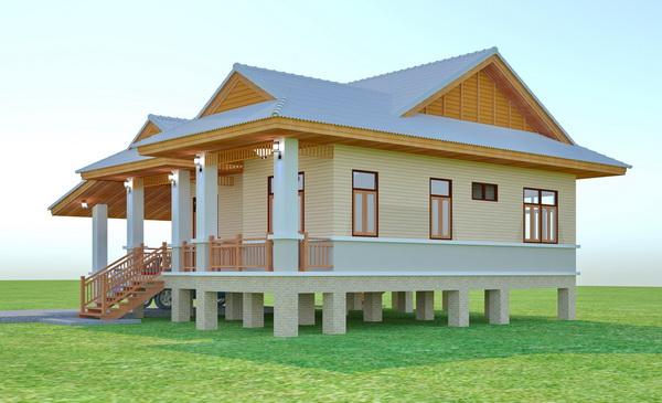 beautiful 150 sqm resort house plan (5)