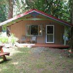 บ้านสวนสไตล์บังกะโล ขนาดเล็ก 1 ห้องนอน 1 ห้องน้ำ เหมาะกับแบบบ้านสวน