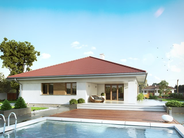 contemporary House 4 bedrooms and swimming pool (1)
