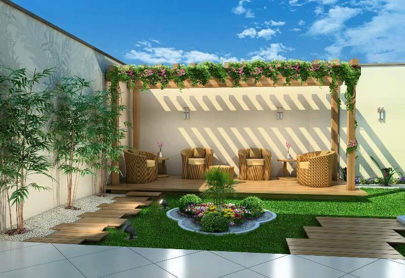 garden in fence ideas (47)